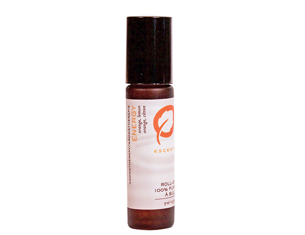 Roll-On Energy 9 ml. / .33 fl. oz. - Escents Aromatherapy Canada