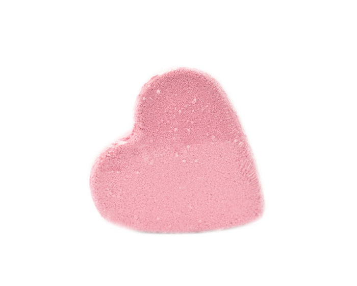 Bath Bomb Heart Shaped LOVE