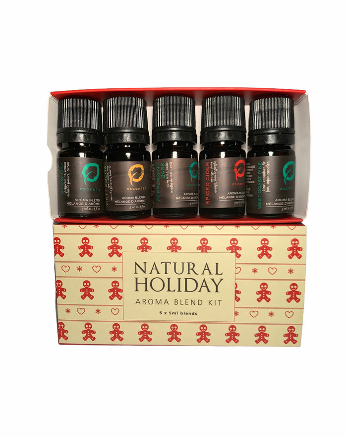 Holiday Aroma Blend Kit 5 X 5ml