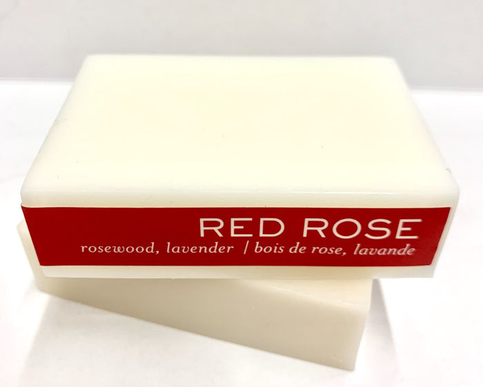 Bar Soap Red Rose - Escents Aromatherapy Canada