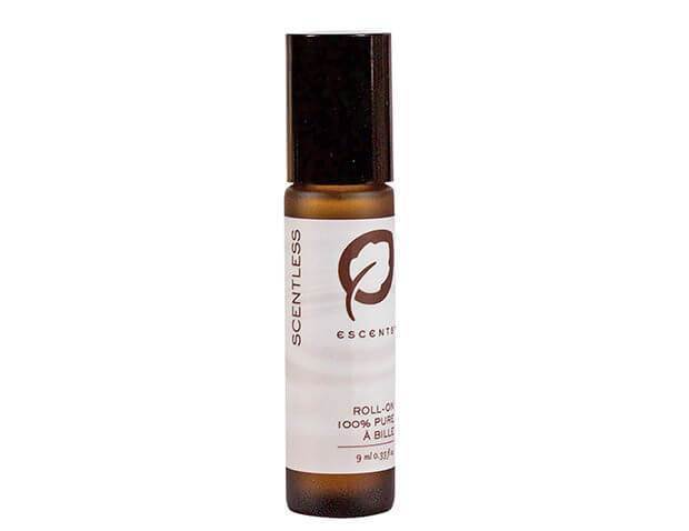 Roll-On Scentless Pre-Filled 9 ml. / .33 fl. oz. - Escents Aromatherapy Canada