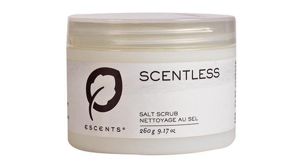 Salt Scrub Scentless 260 g. / 9.17 oz. net wt. - Escents Aromatherapy Canada