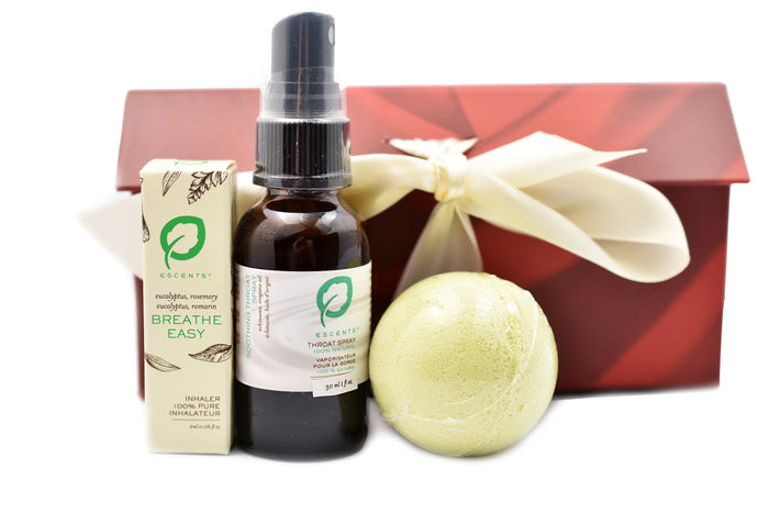 Breathe Easy Throat Spray Gift Set