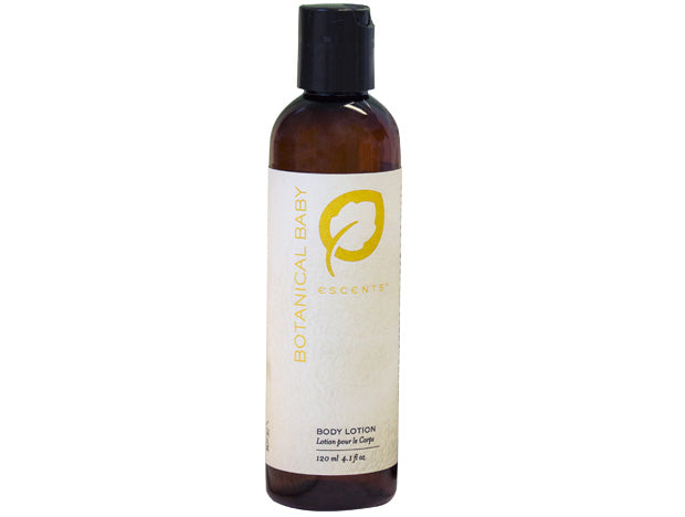 Botanical Baby Body Lotion - Escents Aromatherapy Canada