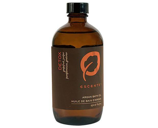 Argan Bath Oil Detox 250 ml. / 8.4 fl. oz. - Escents Aromatherapy Canada