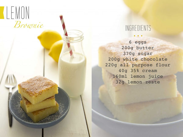 Lemon Brownie recipe
