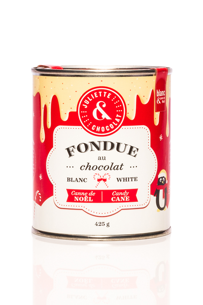 White chocolate and Candy cane fondue (425g)