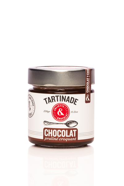 Crunchy Hazelnut Chocolate Spread by Juliette & Chocolat