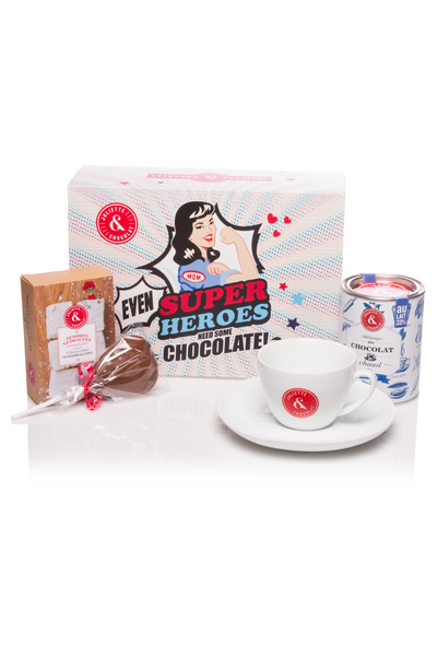 Gift Set - Super Heroes (Hot Chocolate)