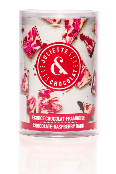 Dark Chocolate and Raspberry Brittle | Juliette & Chocolat
