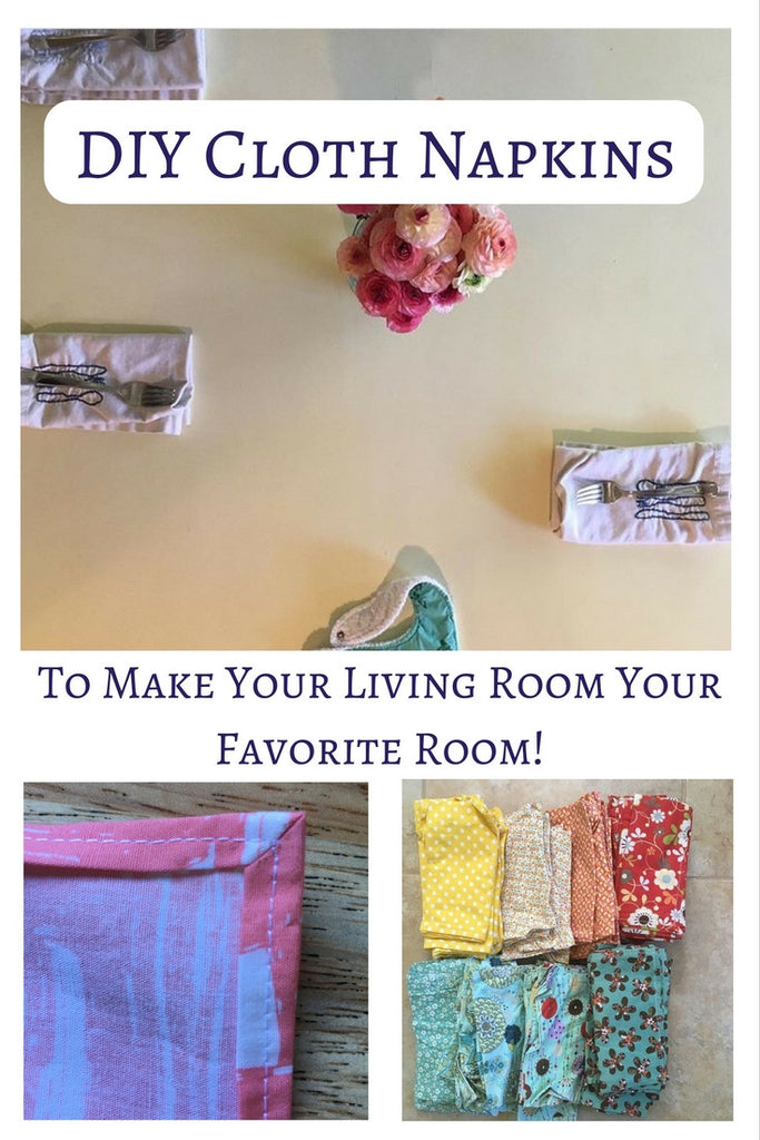 DIY Cloth Napkin Tutorial