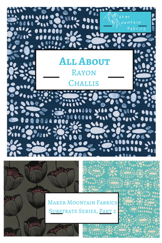 Sewing with rayon tips
