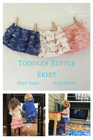 Toddler Skirt tutorial