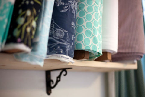 Maker Mountain Fabrics Fabric Shelf