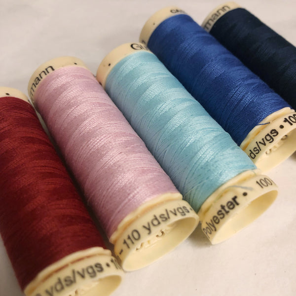 Matching Thread, Gutermann Sew All, 110 Yards