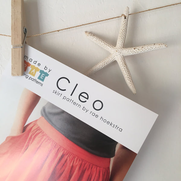 Cleo Skirt Paper Pattern, Made By Rae