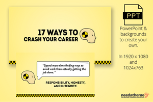 Career Crashers - 17 Ways To Crash Your Career