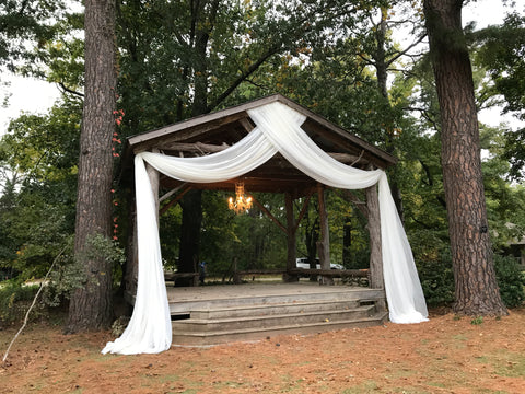 DIY Arbor Drape Package