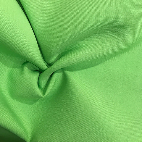 "120"" Round Lime Green Polyester"