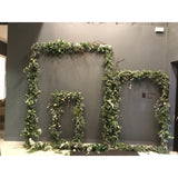 DIY iron structure with greenery package