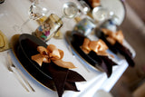 Chocolate Brown Damask Napkin