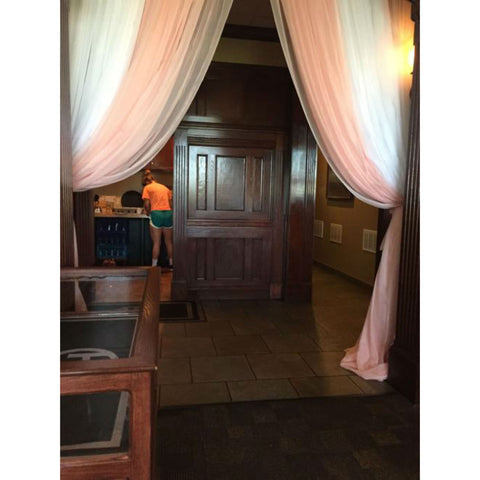 10'x 12' Blush Sheer Drape