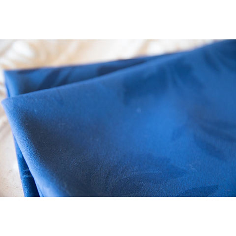 Royal Blue Damask Napkin