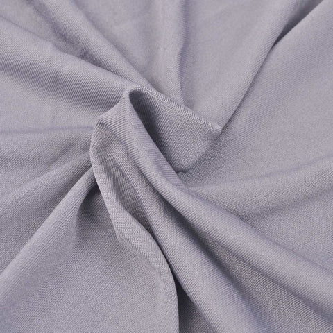 "90""x 156"" Dove Grey  Classic Solid Polyester"