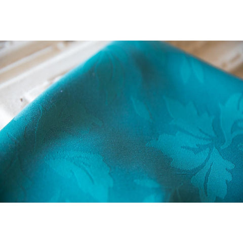 Teal Damask Napkin