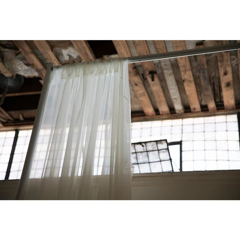 10'x 20' Off White Sheer Drape