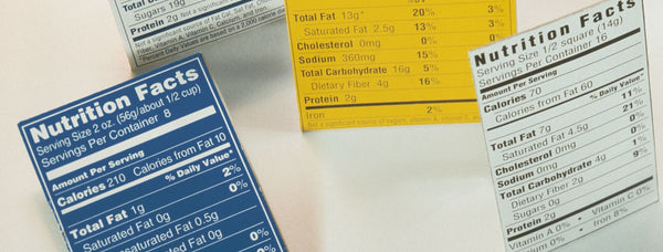 Nutrition Facts Labels: How to Read Them