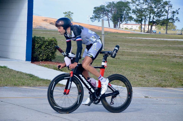 Evens Stievenart - Sebring Record Holder: 24 hrs, 533 miles, 22 mph