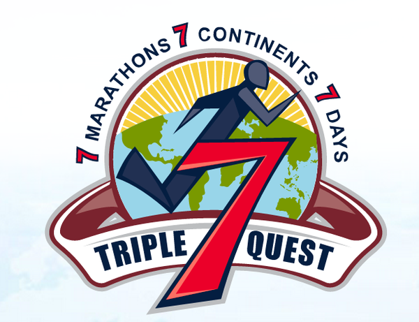 Robert Owens, back in action to take on the Triple 7 Quest: 7 marathons on 7 continents in 7 days