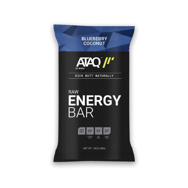 Blueberry Coconut Energy Bars
