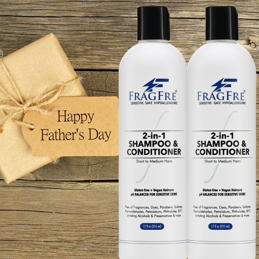 FRAGFRE 2 in 1 Shampoo and Conditioner (1 oz Sample) - Perfect Travel Size TSA Compliant