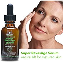 FRAGFRE Natural & Organic Super Reverse Age Serum with Super Anti Aging Serums in One - Alpha Lipoic Acid, Hyaluronic Acid, Co-Enzyme Q10, Vitamin B-3, Sunflower, Aloe and Supreme Serums 1 oz - Ultimate RevasAge Solution - FRAGFRE®
