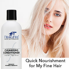 FRAGFRE Cleansing Conditioner for Fine Fragile and Treated Hairs (1 oz Sample) - Perfect Travel Size TSA  Compliant