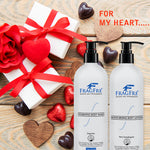 FRAGFRE Body Wash and Lotion Set for Sensitive Skin 16oz 2/Pack Gift Set - Sulfate Free Parabens Free Hypoallergenic - Vegan Gluten-free Cruelty-free