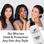 FRAGFRE Hair Finishing Spray Firm Hold 8 oz - Hair Spray for Sensitive Skin - Fragrance Free Hypoallergenic Parabens Free - Holds without Irritations