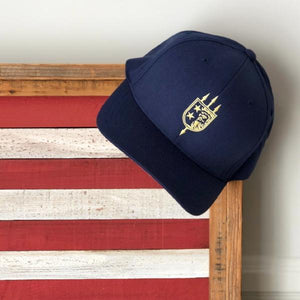 V+B LTD ALPHA Navy Flex Fit Hat