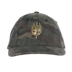V+B LTD Camo Green Flex Fit Hat