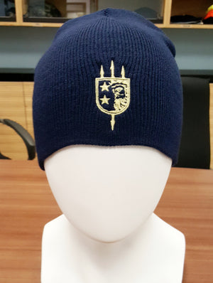 V+B LTD ALPHA NAVY BEANIE