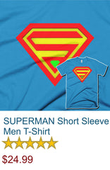 SUPERMAN Short Sleeve Men T-Shirt