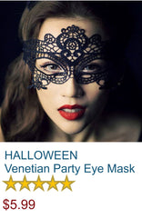 HALLOWEEN - Venetian Party Eye Mask