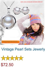 Vintage Pearl Sets Jewerly