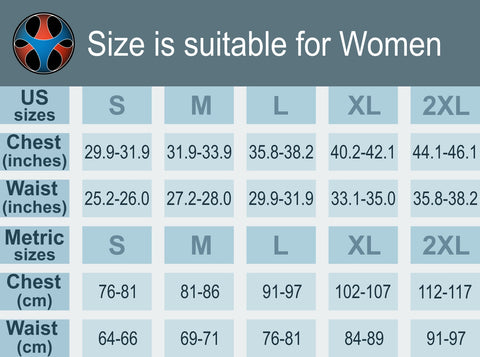 Size Guide - US and Metric Sizes - Women