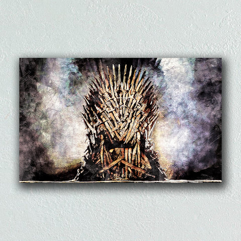 Game Of Thrones - THRONE - Painting - Illustration - Design Forms Of Art