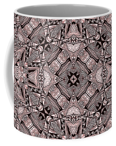 Aztec Navajo Pattern Background - Mug - Design Forms Of Art