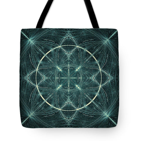 Fractal Fireworks  - Tote Bag - Design Forms Of Art