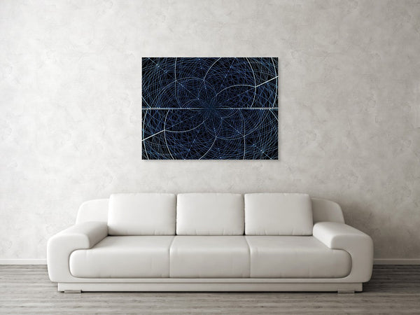 Geometric Mathematical Fractal  - Art Print - Design Forms Of Art